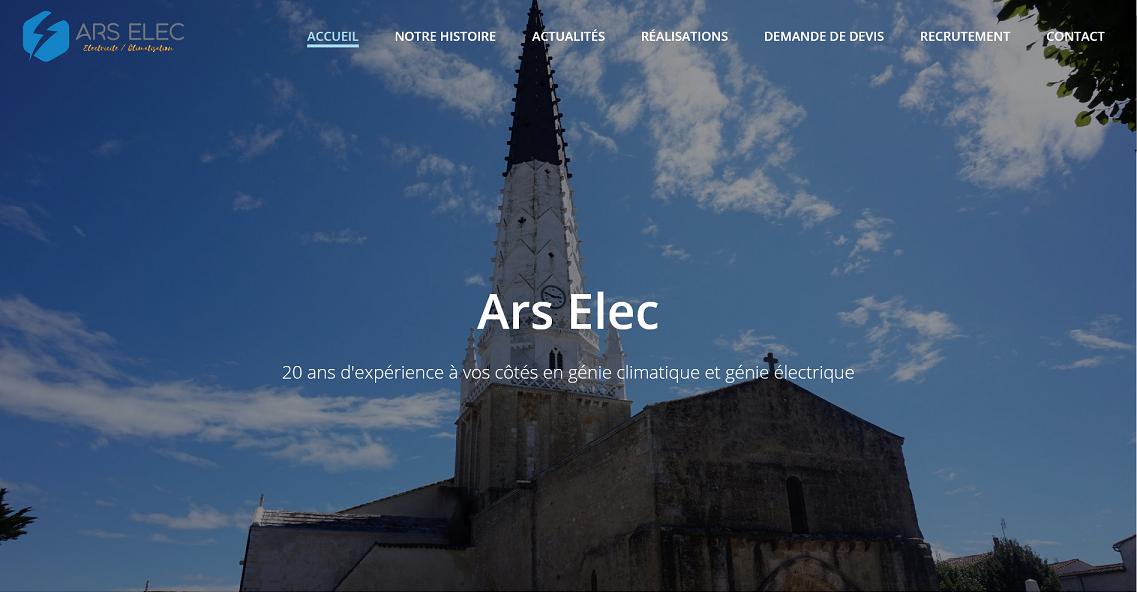 Ars'Elec - 20 ans d'expérience dans les travaux électriques, climatisation, chauffage et domotique